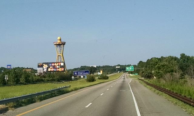 Lumberton, NC to Johnston,SC