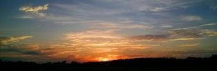Sunset on July 2nd