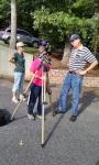 Ken showed us his new solar telescope