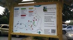 New Hinton sign