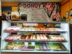 Our first stop this morning was at Donut King