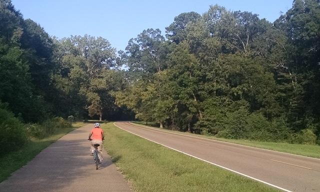 Biking the NatchezTrace
