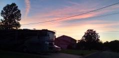 Sunset in Tuscaloosa