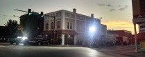 Filming a TV show in Cedartown