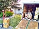 Moving Max's mother's stuff from her old house