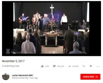 Webcast of LMUMC early service