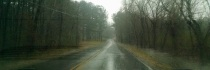 Another rainy drive