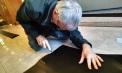 Cutting floor protectors