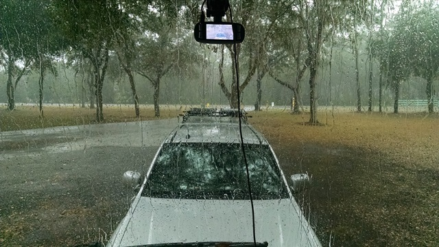 Rainy Sunday in CrystalRiver