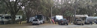 RV area at Crystal River