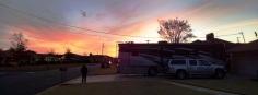 Sunrise before leaving Tuscaloosa