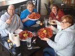 Fifteen pounds of crawfish