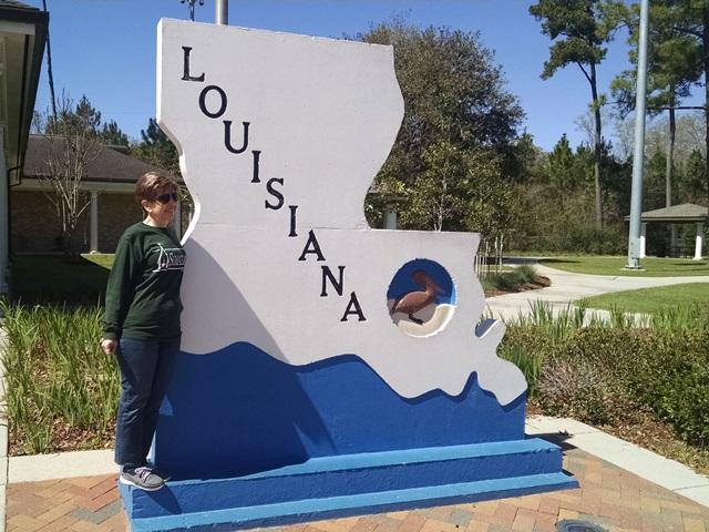 Arrived In Louisiana