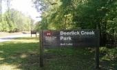 Deerlick Creek sign