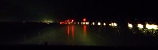 Rainy night drive