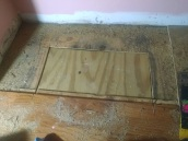 Subfloor repaired