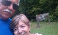 Last morning walk at Deerlick Creek