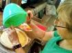 Anne making a key lime pie