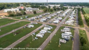 Drone Picture of the RV Park taken by a NOMADS friend