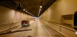 Tunnel from Kentucky to Tennessee