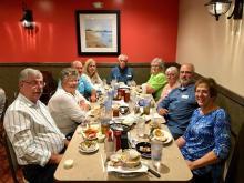 Team dinner at Pier 41
