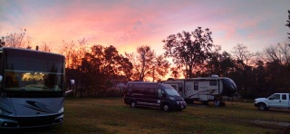Sunrise in Lumberton