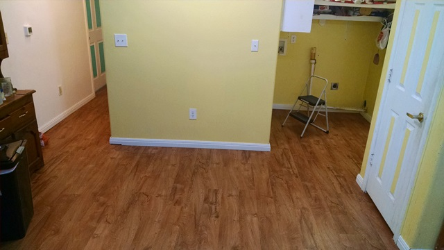 Flooring Completed!
