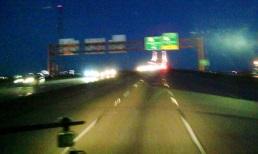 i-10 bridge before daylight