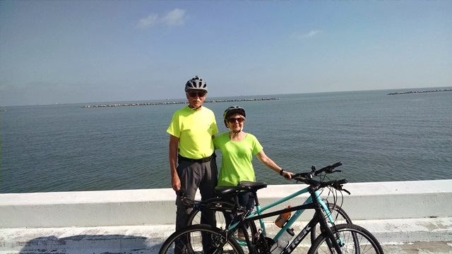 Biking the Corpus Christi BayTrail
