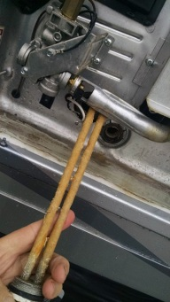 What south Texas water will do to a water heater element