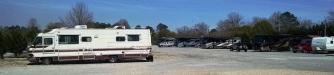 Bunkhouse Campground. They also work on older RVs here.