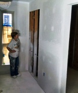 More drywall finishing in our future