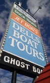 Boat Tour Sign