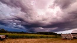 Wednesday evening storm