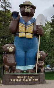 Largest Smokey Bear