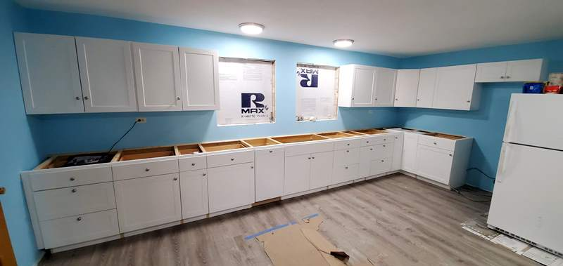 Cabinets Finished