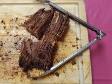Mark's delicious smoked brisket