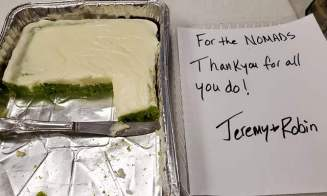 Delicious key lime cake