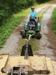 Tow mower