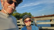 Biking the Interurban Trail