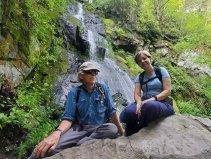 Us at Hen Wallow Falls