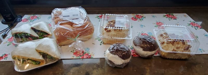 Today's haul from Warehouse Market and Bakery